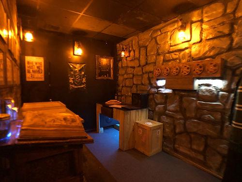 Cloak & Dagger Escape Rooms - The Wizard