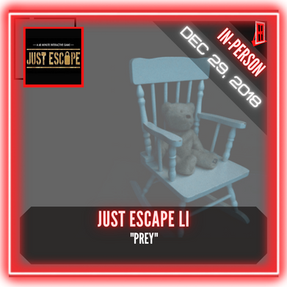 """Just Escape - """"Prey"""""""