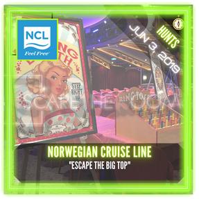"Norwegian Cruise Line - ""Escape the Big Top"""
