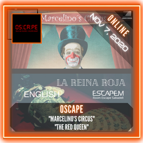 "OSCAPE - ""Marcelino's Circus"" & ""The Red Queen"""