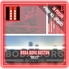 "Boda Borg - ""Boda Borg Quests"""