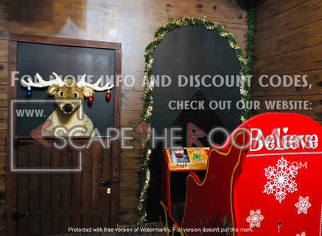 """Codeword Escape Room - """"The Christmas Key Catastrophe"""""""