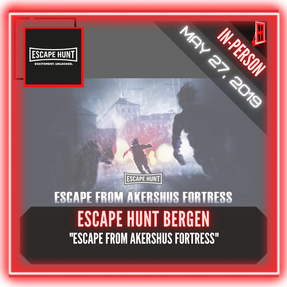 "Escape Hunt Bergen - ""Escape from Akershus Fortress"""