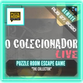 """REMOTE:  Puzzle Room Escape Game - """"The Collector"""""""