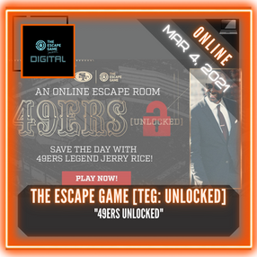 "The Escape Game - TEG Unlocked: ""49ers Unlocked"""
