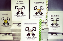 Escape Rooms Monthly