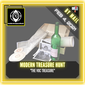 "Modern Treasure Hunt - ""The VOC Treasure"""