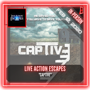 "Live Action Escapes - ""Captive"""