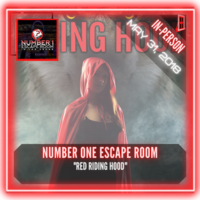 """Number One Escape Room - """"Red Riding Hood"""""""