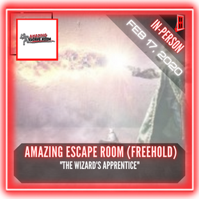 "Amazing Escape Room (Freehold) - ""The Wizard's Apprentice"""