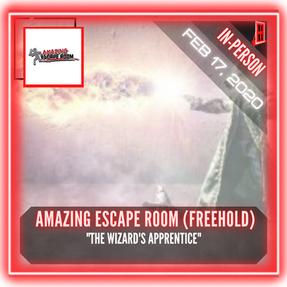 "Amazing Escape Room (Freehold) - ""The Wizard's Apprentice"""