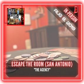 """Escape The Room (San Antonio) - """"The Agency"""""""