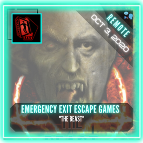"""REMOTE:  Emergency Exit Escape Games - """"The Beast"""""""