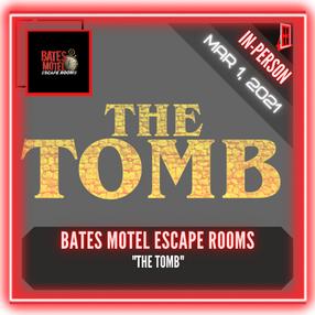 """Bates Motel Escape Rooms - """"The Tomb"""""""