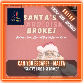 "Can You Escape? - Malta - ""Santa's Hard Disk Broke!"""