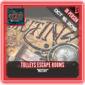 "Tulleys Escape Room - ""Mutiny"""