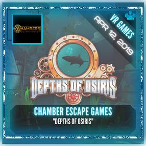 "Chambers Escape Games - ""Depths of Osiris"""