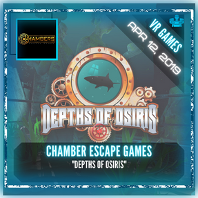 "Chambers Escape Games - ""Depths of Osiris"""