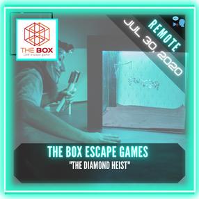 """REMOTE: The Box Escape Games - """"The Diamond Heist"""""""