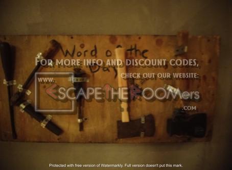 "Lock & Clue Escape Rooms - ""The Cellar 2:  Saul's Revenge"""