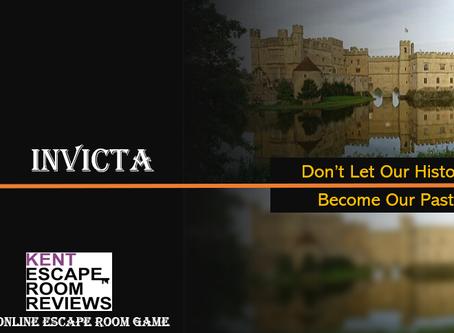"""Kent Escape Room Reviews  - """"Invicta"""""""