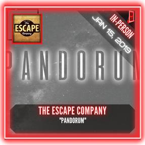 "The Escape Company - ""Pandorum"""