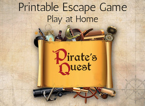 """Printable Escapes by The Other Tales - """"Pirate's Quest"""""""
