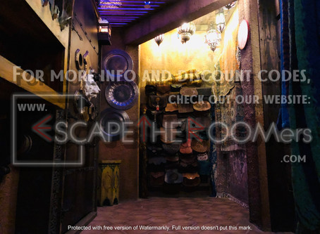 """The Escape Game (NYC) - """"Special Ops:  Mysterious Market"""""""