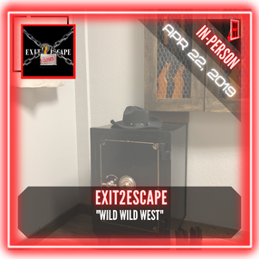 "Exit2Escape - ""Wild West Jail Escape"""