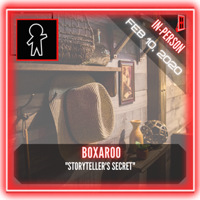 "Boxaroo - ""Storyteller's Secret"""