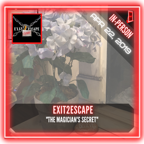 "Exit2Escape - ""The Magician's Secrets"""