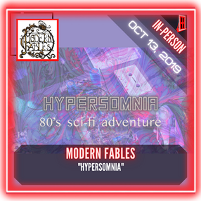 """Modern Fables - """"Hypersomnia"""""""