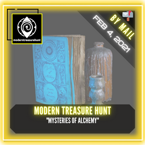 "Modern Treasure Hunt - ""Mysteries Of Alchemy"""