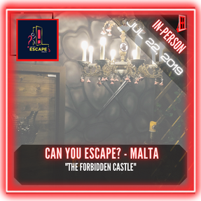 "Can You Escape? - Malta - ""The Forbidden Castle"""