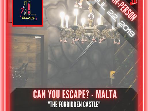 """🚪.    Can You Escape? - Malta - """"The Forbidden Castle"""""""