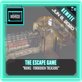 "REMOTE:  The Escape Game (Nashville) - ""Ruins:  Forbidden Treasure"""