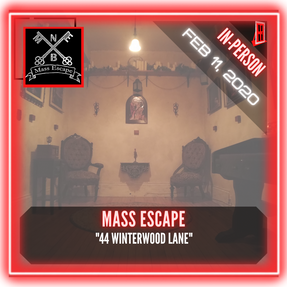 "Mass Escape - ""44 Winterwood Lane"""