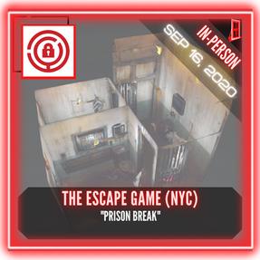 """The Escape Game (NYC) - """"Prison Break"""""""