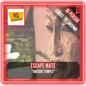 """Escape Mate - """"Ancient Temple"""""""