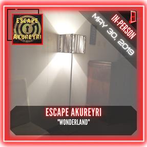 """Escape Akureyri - """"Wonderland"""""""