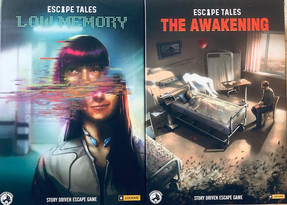"Escape Tales - ""The Awakening"" & ""Low Memory"""