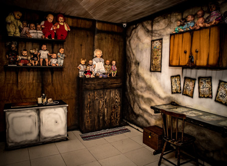 """🗣.    REMOTE:  Puzzle Room Escape Game - """"The Collector"""""""