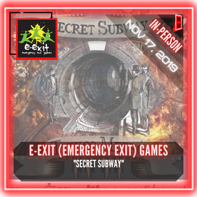 "E-Exit (Emergency Exit) Games - ""Secret Subway"""