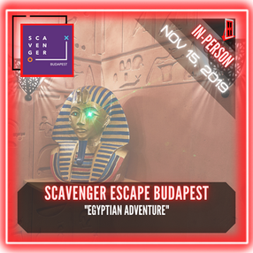 "Scavenger Escape Budapest - ""Egyptian Adventure"""