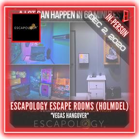 """Escapology Escape Rooms (Holmdel) - """"Vegas Hangover"""""""