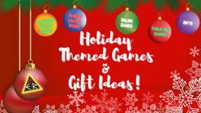 Holiday Themed Games and Gift Ideas!