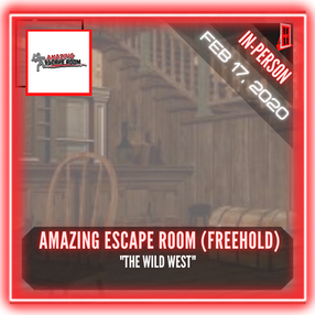 """Amazing Escape Room (Freehold) - """"The Wild West"""""""