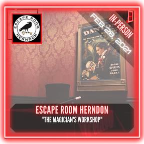 "Escape Room Herndon - ""The Magician's Workshop"""