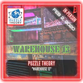 "Puzzle Theory - ""Warehouse 13"""