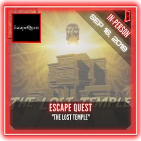 """Escape Quest (Alexandria) - """"The Lost Temple"""""""